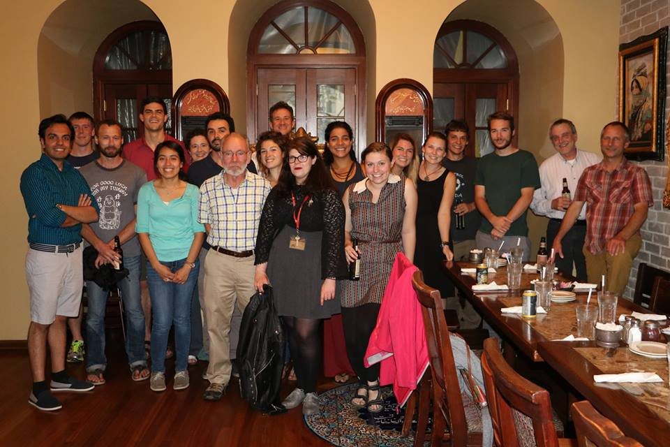 The Summer School participants at the end of School dinner (Photo credit: Mostafa Ahmadzadeh)